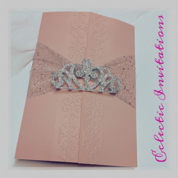 Beautiful Of Invitations Quinceanera Rhinestone Diamond Lasercut