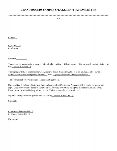 Sample Invitation Letter By Email New Team Meeting Invitation