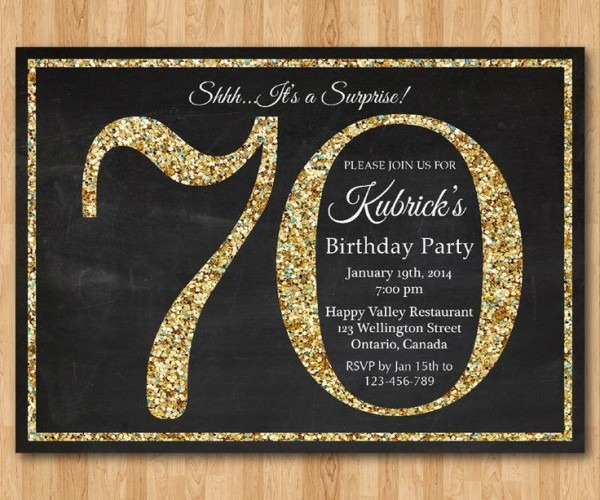 Th Birthday Invitation Sayings Wording For Surprise Party Best