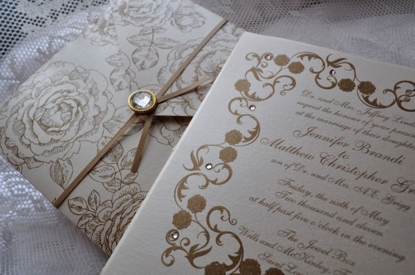 Pearls With Polos  Wedding Invites Fit For Royalty
