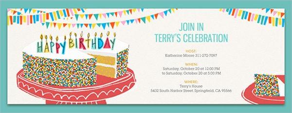 Birthday E Invites Elegant E Invitations For Birthday