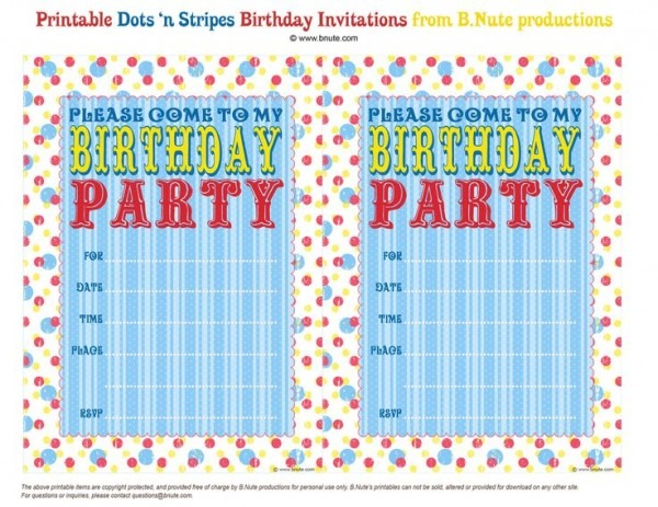 Online Invitation Des Trend Birthday Party Invitations Online Free