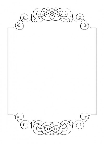 Blank Wedding Invitations