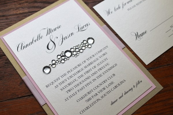Bling Wedding Invitations Bling Wedding Invitations And It Is That