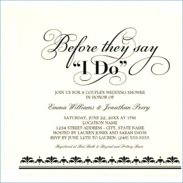 Bridal Shower Invite Poems A Invitation Poem Delaneydare Regarding
