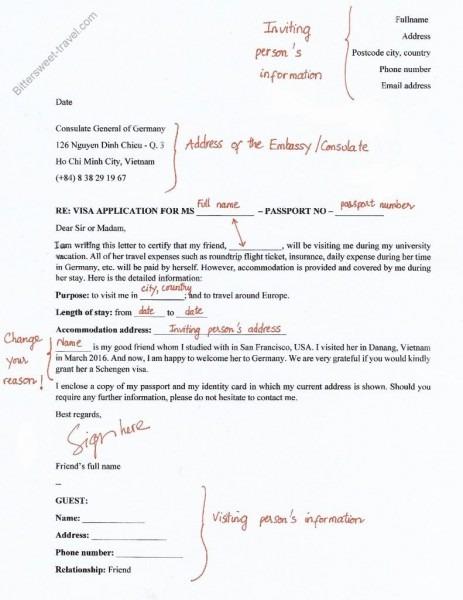 Brilliant Ideas Of Invitation Letter Germany Sample Invitation