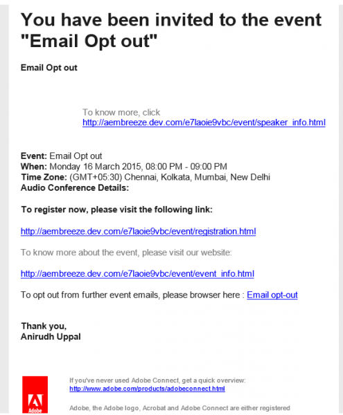 Professional Email Invitation Templates Spectacular Email