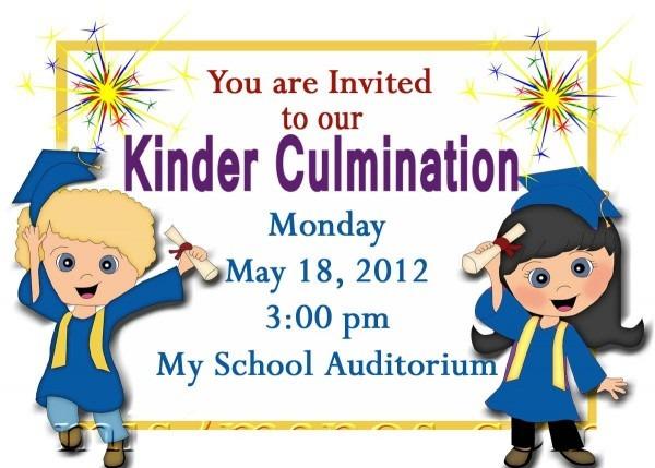 Free Printable Kindergarten Graduation Announcements  Graduation