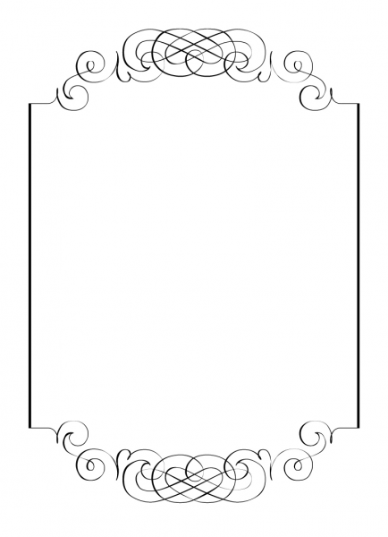 Free Printables For Happy Occasions   Diy  Calligraphic Frame