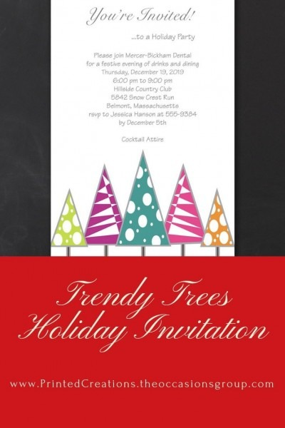 Invite Guests To Be Festive At Your Company Holiday Party With