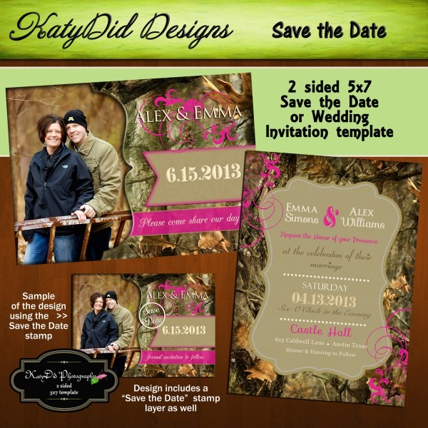 Camouflage Wedding Invitations Camouflage Wedding Invitations A