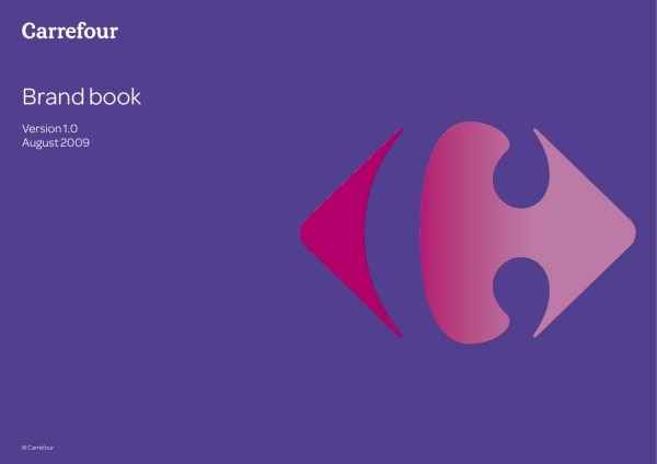 Carrefour Brand Book By Logobr