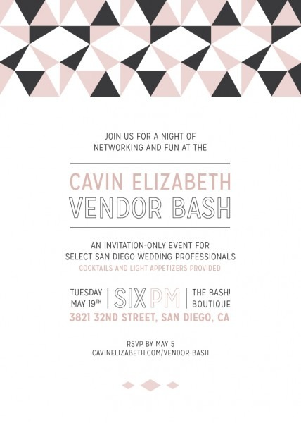Cavin Elizabeth Vendor Bash