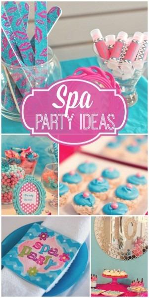 Spa   Birthday  Kyla's Spa