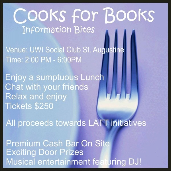 Invite Family & Friends] Cooks For Books  Information Bites
