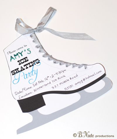Cbaaaccedfbbe Luxury Ice Skating Party Invitations Free Printable