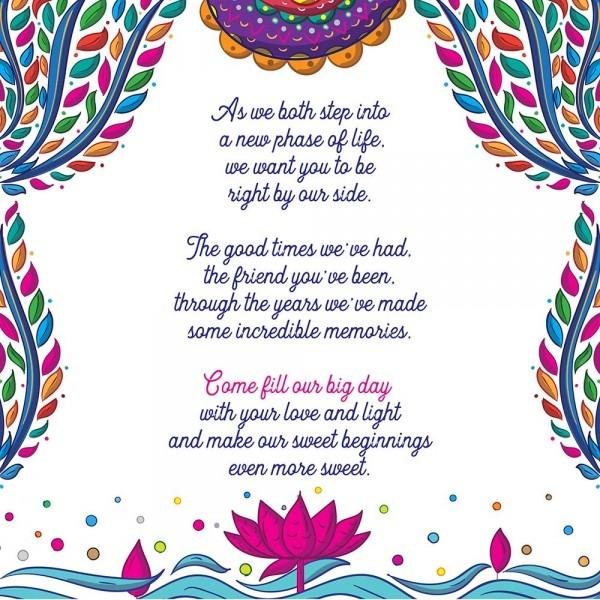 Indian Wedding Invitation Design And Illustration By Scd Balaji
