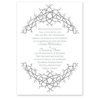Celtic Wedding Invitations Celtic Wedding Invitations With A