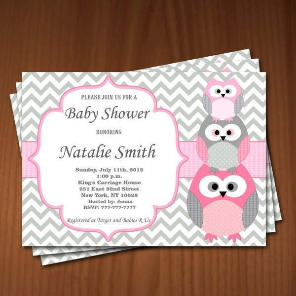 Best Owl Baby Shower Invitations