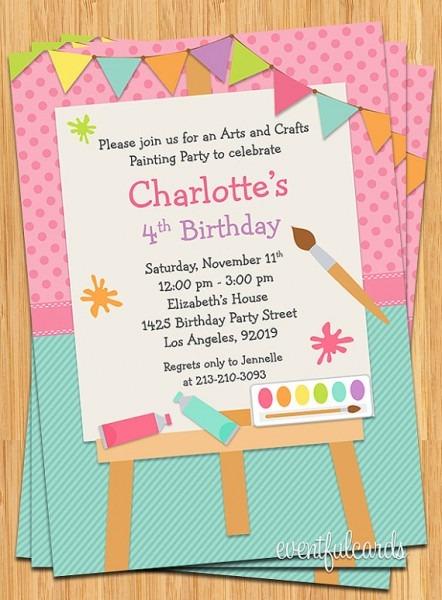 Invitat Amazing Children's Birthday Invitation Templates