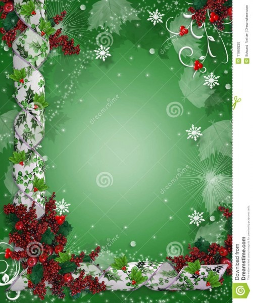 Holiday Invitation Backgrounds