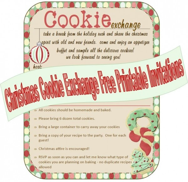 Cookie Exchange Ideas Superb Cookie Party Invitations Free Cute