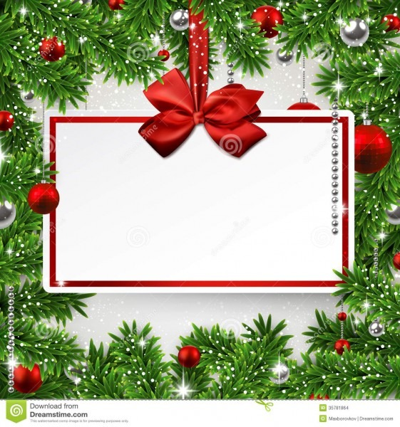 Holiday Invitation Background