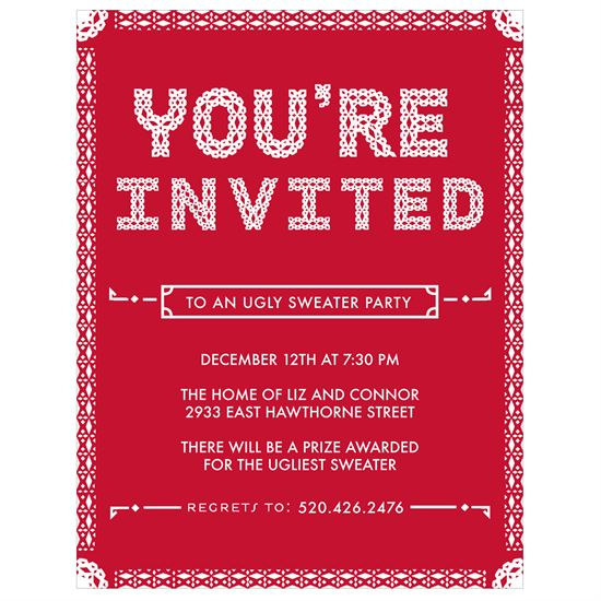 Christmas Party Invitations Christmas Party Invitations And New