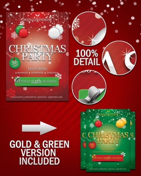20+ Christmas Psd & Vector Files For Download