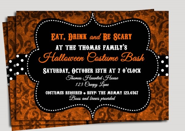 Modern Ideas About Halloween Party Invitations Then Your
