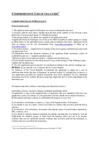 Template Invitation Letter For Schengen Visa