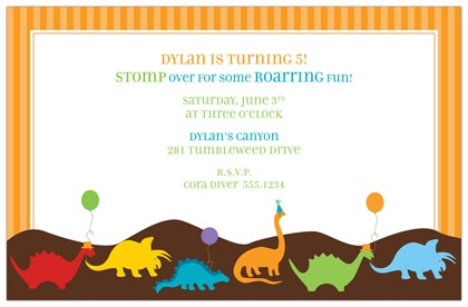Dinosaur Birthday Party Invitations Printable Free Luxury