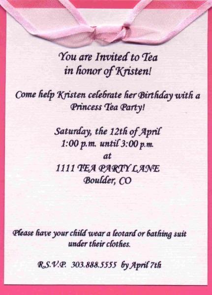 Copy Of Invitation Sample Unique Sample Party Invitation Wording