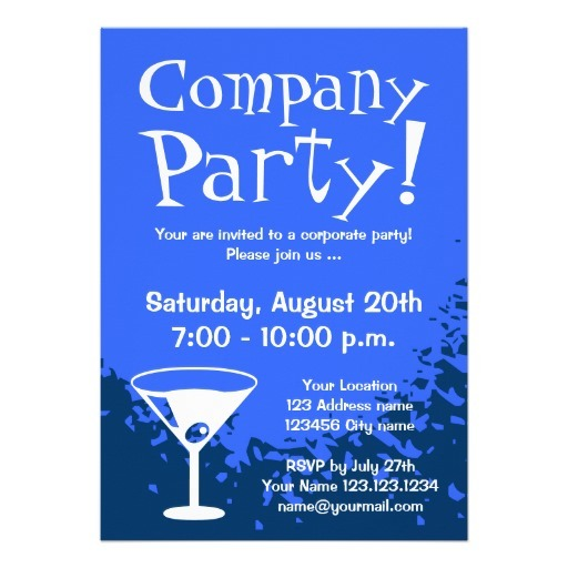 Company Party Flyer