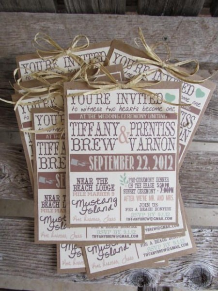 Country Rustic Wedding Invitations Country Rustic Wedding