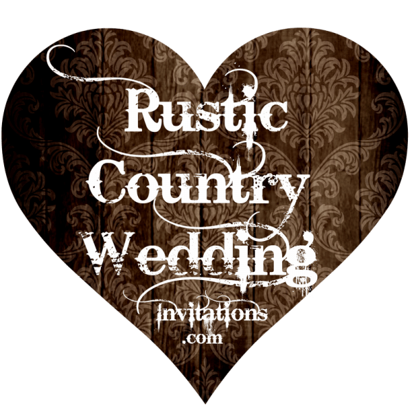 Country Style Wedding Invitations Country Style Wedding