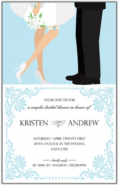 Couples Wedding Shower Invitations Templates Good Ideas Couples