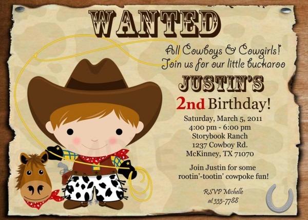 Cowboy And Cowgirl Birthday Invitations Lijicinu 4b1333f9eba6