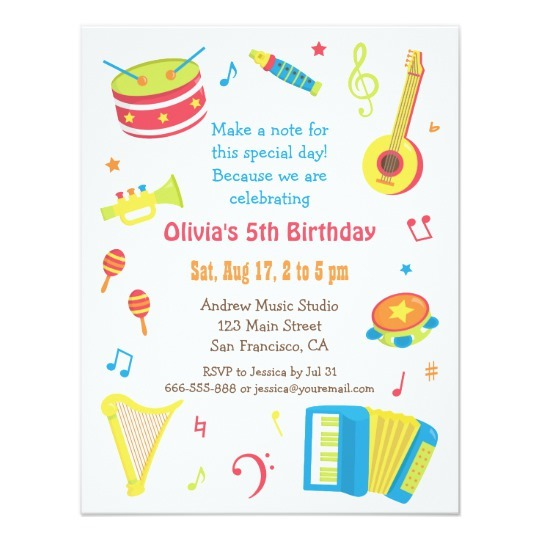 Create Kids Birthday Invitations Unique With Create Kids Birthday