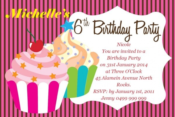 Invitation  Creating Birthday Invitations