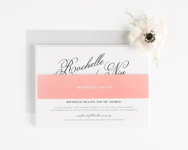 Coral – Wedding Invitations