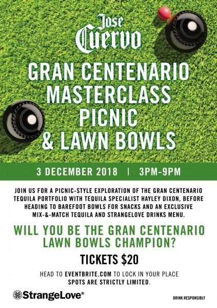 Lawn Bowls And A Gran Centenario Masterclass (and Picnic