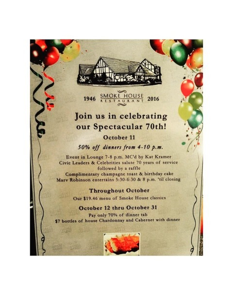Smoke House Burbank On Twitter   Tomorrow Is The Big Day!  70years
