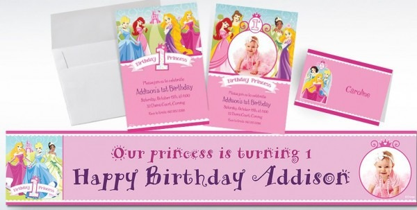 Custom Disney Princess Birthday Vintage Custom Princess Birthday