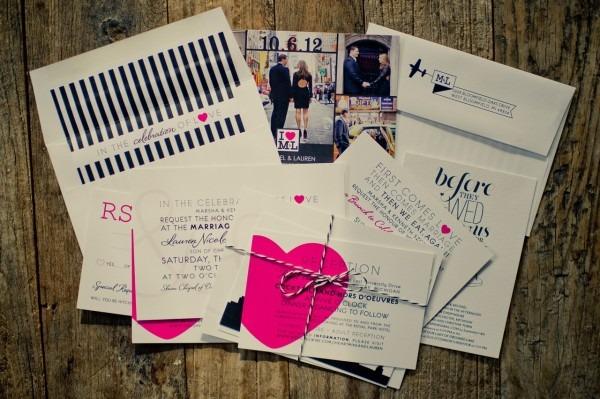 I {heart} Ny Themed Wedding – Custom Paper Works