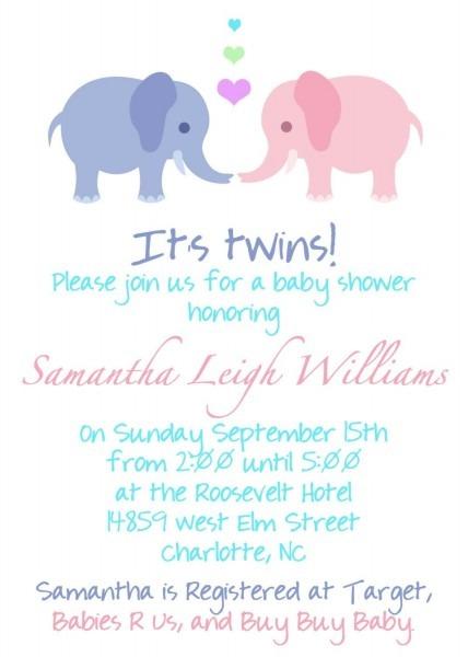 Twin Pregnancy Announcement Wording!!!