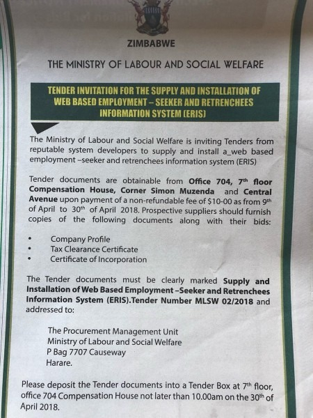 Zim Media Review On Twitter   A Govt Opportunity For System