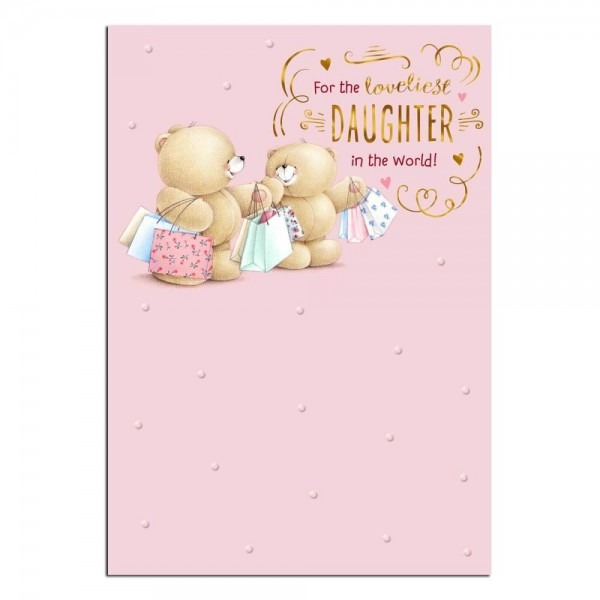 Daughter Cards Forever Friends Official Birthday Card For