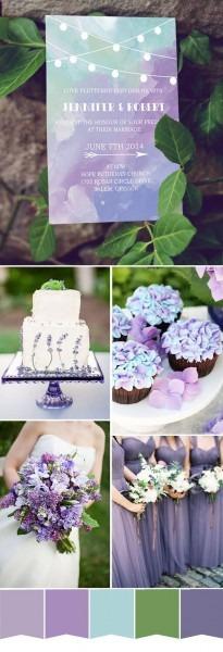 Wedding Invitation  Lovely Purple Wedding Invitations For Wedding