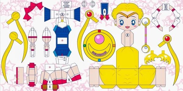 Party Invitation Sailor Moon